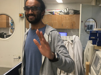 Sayad joins the group as a PhD student