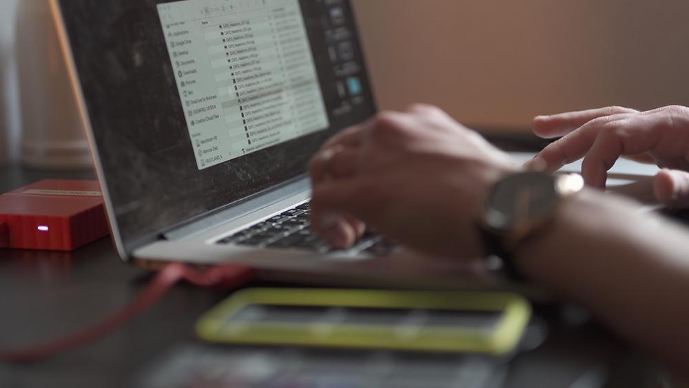 Editing workflow