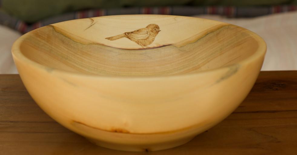 Little Cedar Bird  #2206