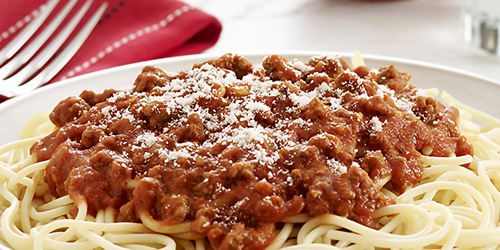 Spaghetti Dinner at Reflections