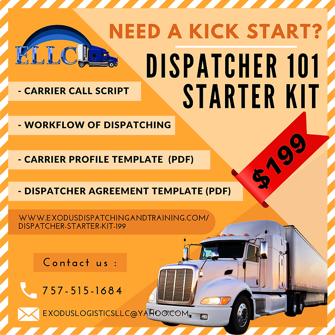 Dispatcher 101 STARTER - Kick starter.pn