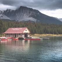 Maligne, Lake, Jasper, Alberta, CN