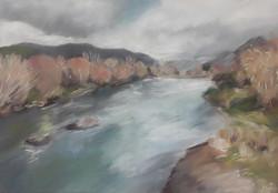 Central Otago River in Winter