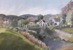 Leith River running through Otago University