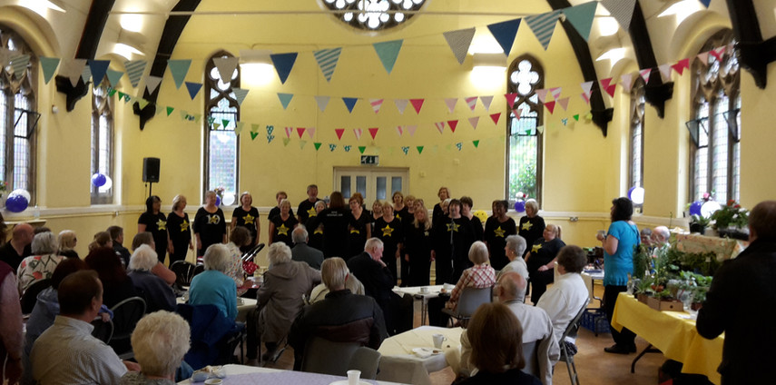 Tea Party with 'Soul Symphony' Choir 201