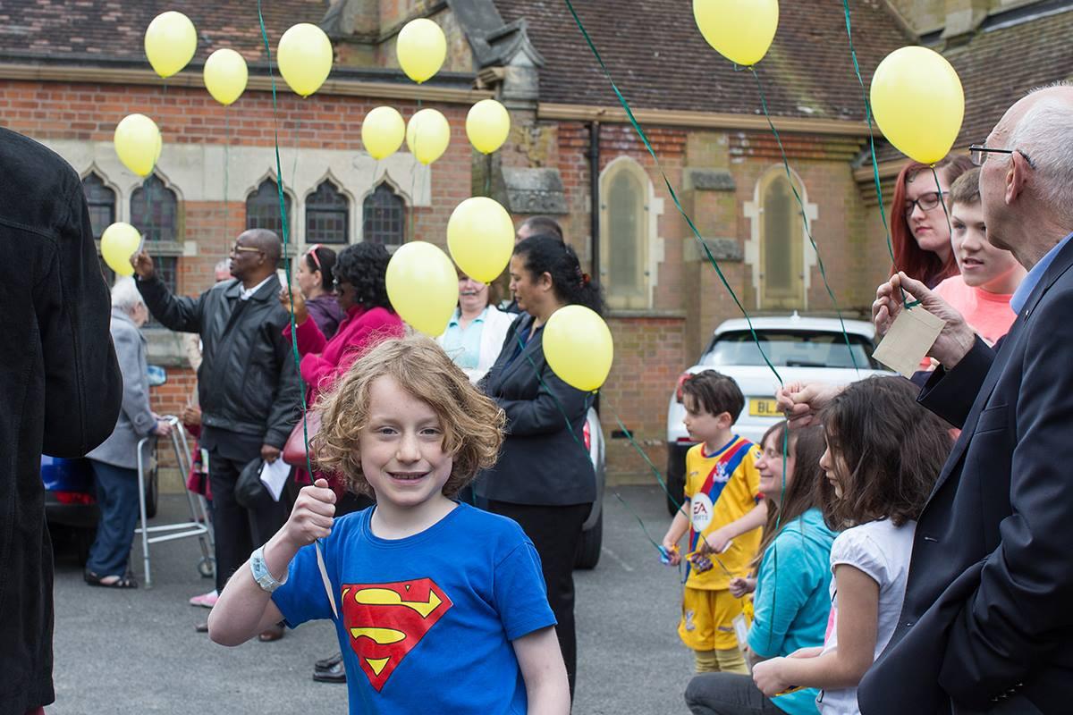 Easter 'Balloon Release' 2017