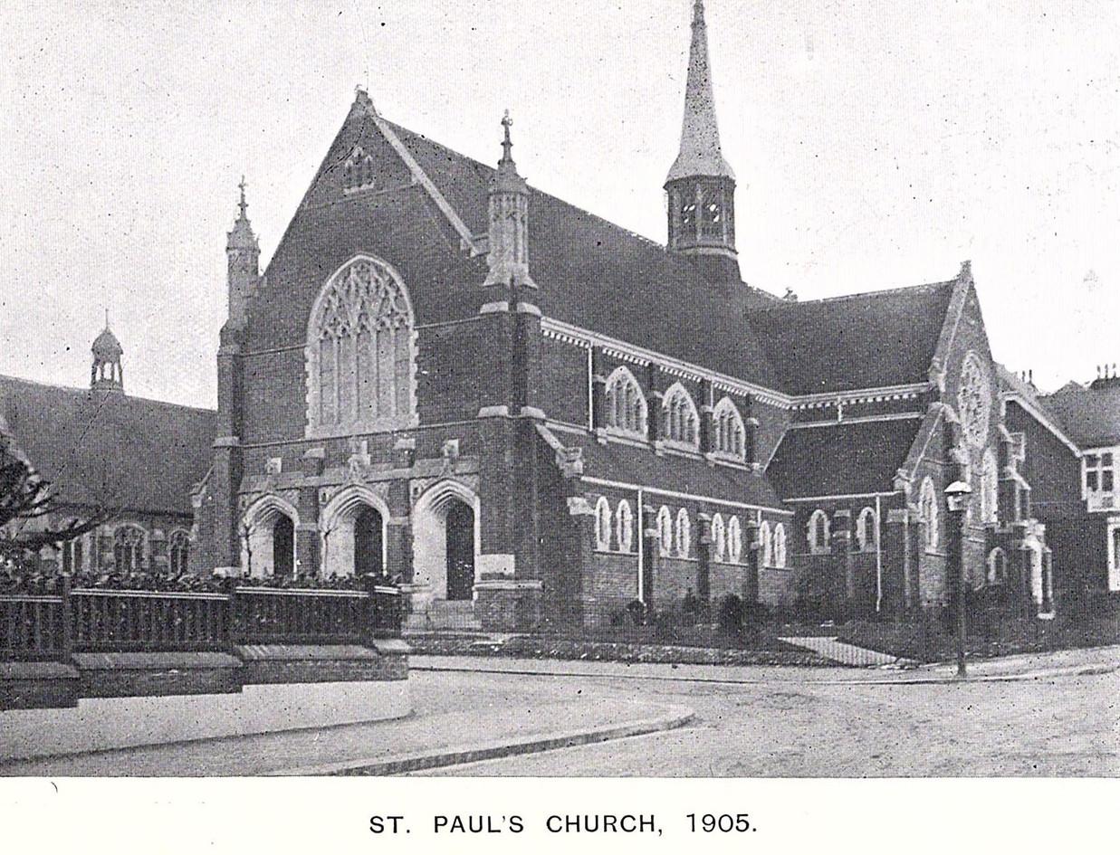 St Pauls 1905
