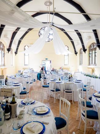 Wedding Reception in Hall