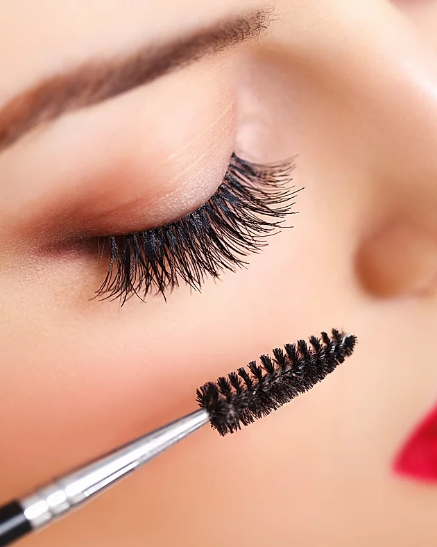 Taking care of eyelash extensions, by brushing regularly, in Gold Coast