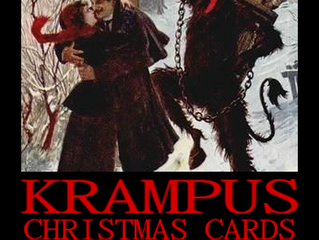 Krampus Christmas Cards That Will Make You Say 'WTF?'