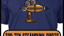 Top 10 Steampunk Shirts From Indie Artists on Teespring