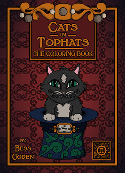 Cats in Tophats The Coloring Book