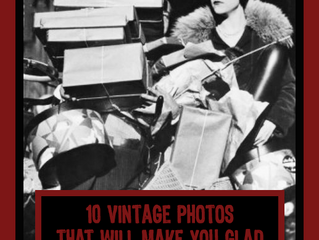 10 Vintage Photos That Will Make You Glad Black Friday is Over