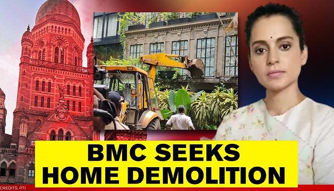 BMC's demolition work : The legal aspects