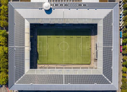 Luftaufnahme Stadion