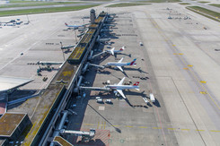 Luftaufnahme Zürich Flughafen