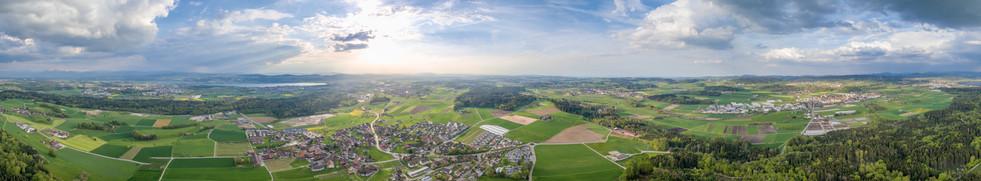 Luftaufnahme Zürcher Oberland