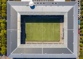 Luftbildaufnahme Wankdorf Stadion Bern