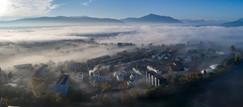 Luftaufnahme Nebel