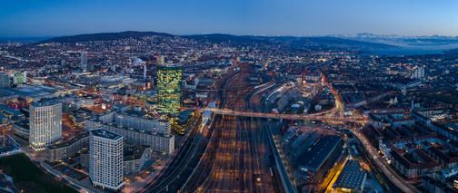 Drohnenaufnahme Panorama