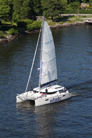 Luftbild Segelschiff