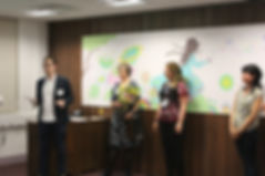 Launch of the Neonatal Unit's Mural in 2016