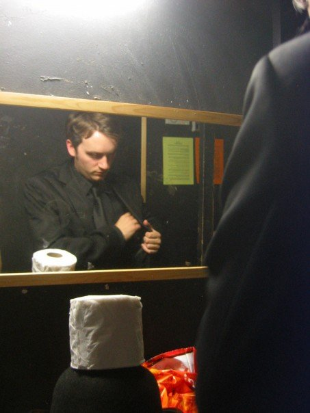 Backstage at the Etcetera Camden
