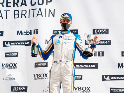 Richardson Racing maintains Porsche podium run at Silverstone
