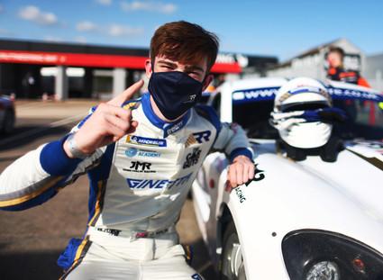 High five for Richardson Racing at Donington Park