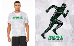 MOVE. 10 Principles White Camo: MOVE Period, Inc.