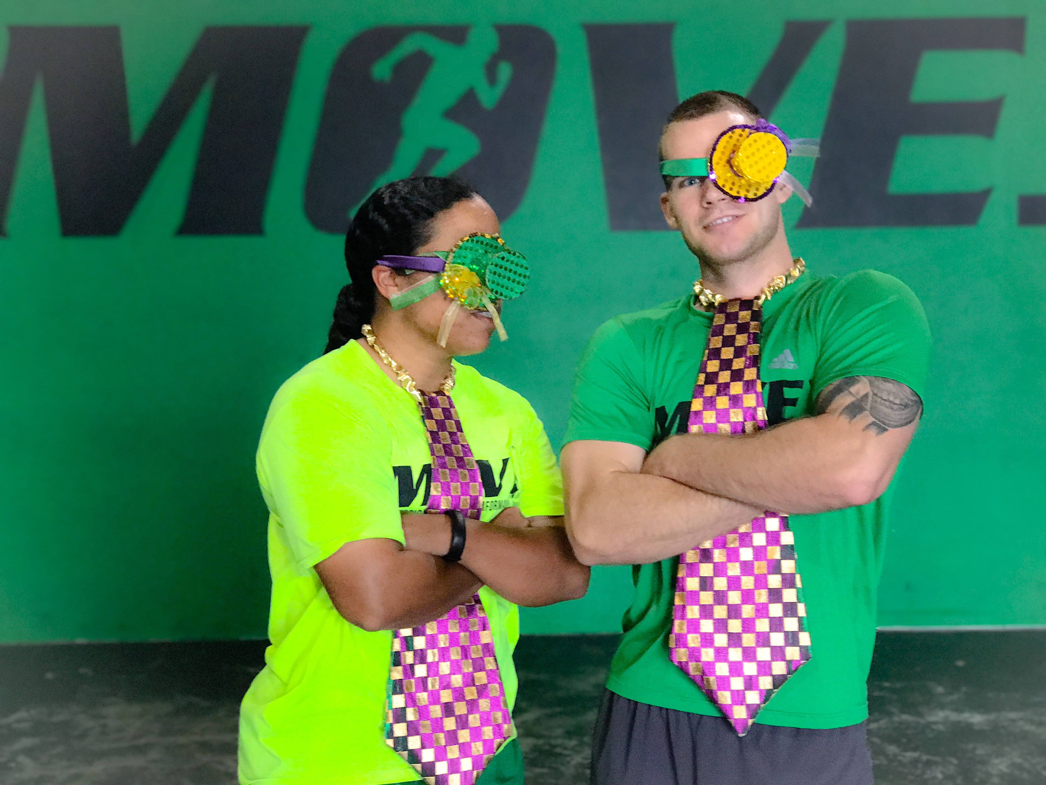 Mardi Gras Coach Rob & Coach Chris: MOVE Period, Inc.