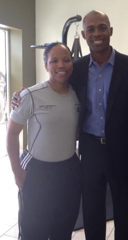 Dr Ian & Coach Destini Robinson
