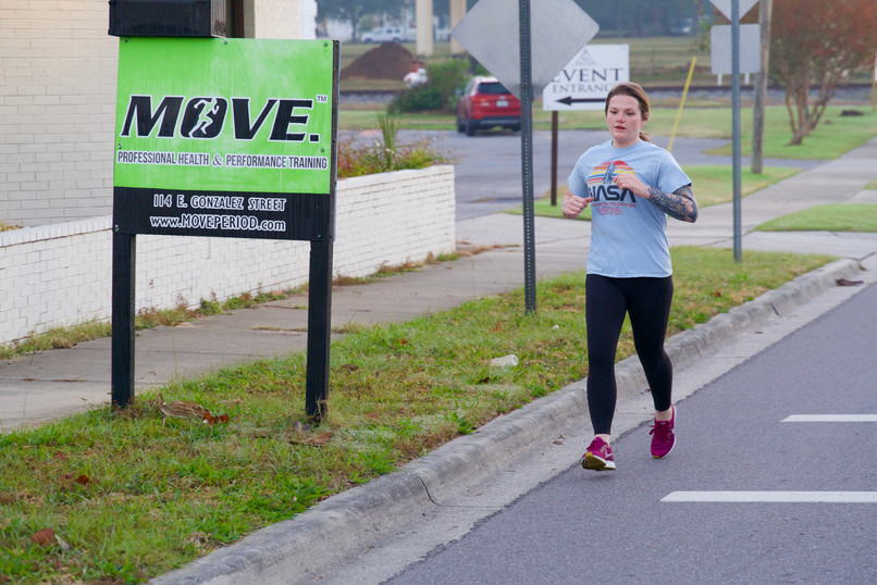 Kaitlin MOVE. morning session Intervals