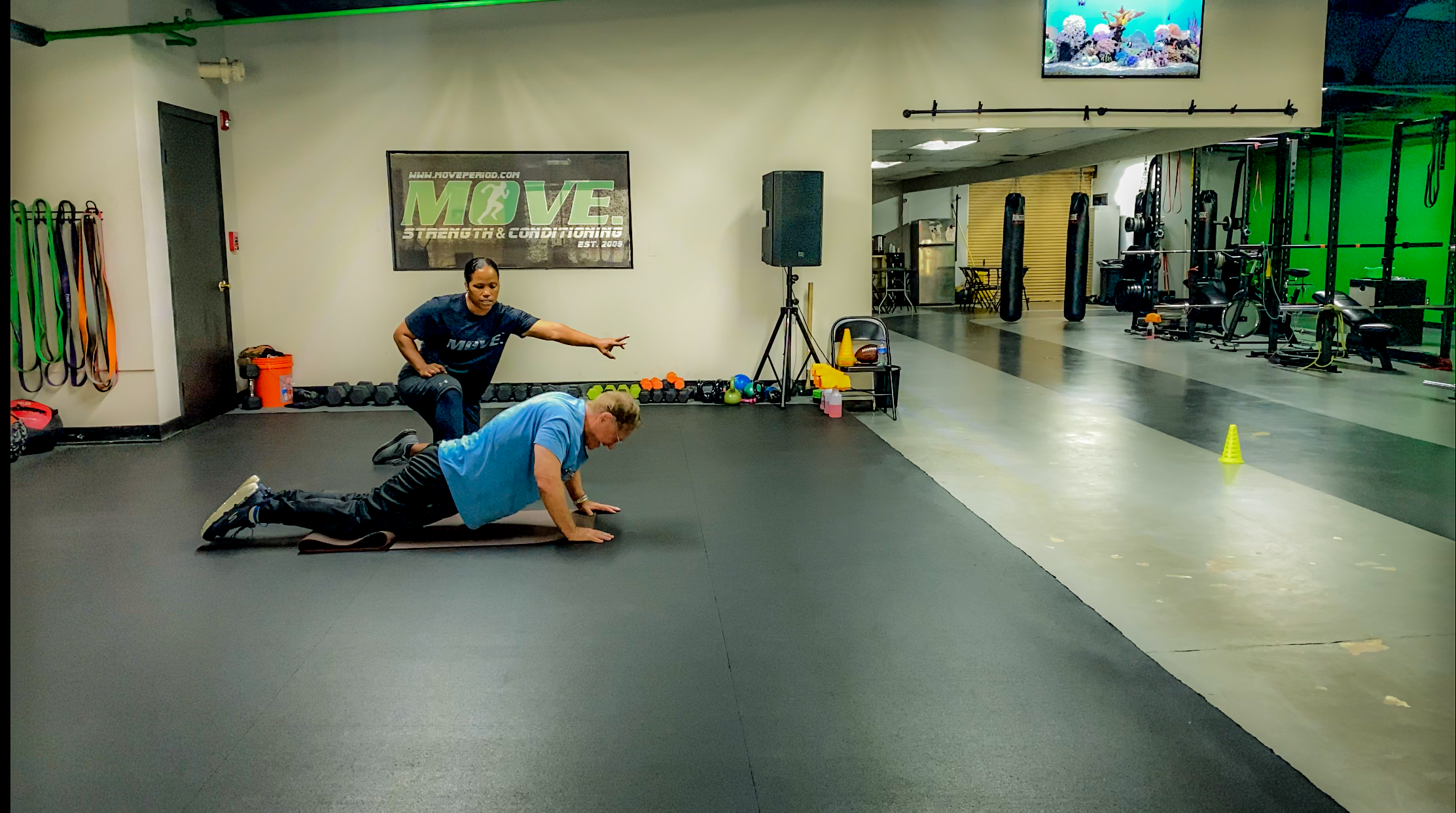 Quint Pushup in Action with Coach Rob at