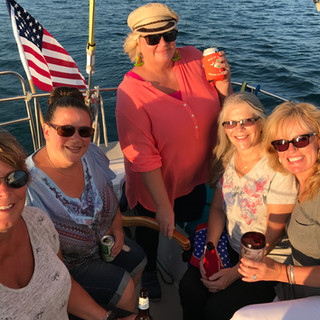 Girls Night Out on a Boat