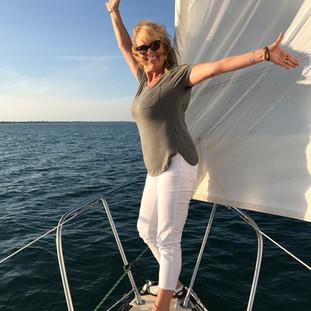 Judy's Titanic Pose