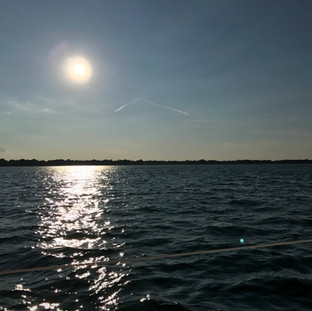 Sailing the coast