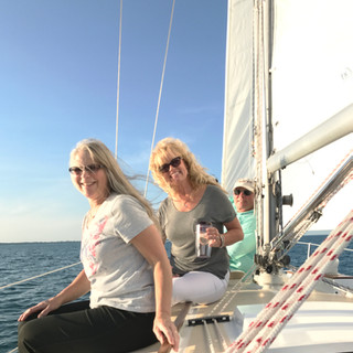 Sailing port!