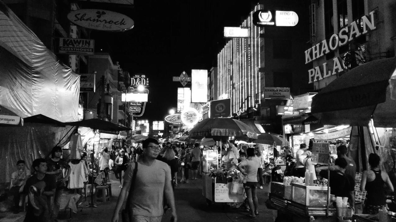 Khaosan Road, Bangkok, Thailand
