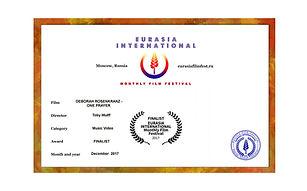 eurasia a4 querformat certificate klein.