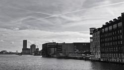 Blick von der Oberbaumbrücke, Berlin