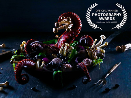 "GEWINNER DES ""THE TASTE AWARDS 2020"" FOTOGRAFIE-PREISES IN LOS ANGELES"