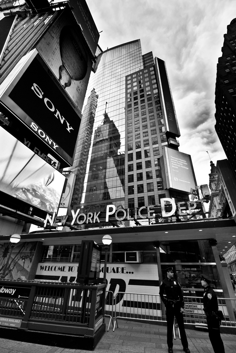 NYPD Time Square, New York
