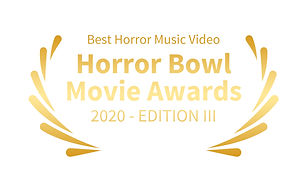 Bestes Horror Musikvideo, Toby Wulff Filmproduktion Berlin. Horror Bowl Movie Awards