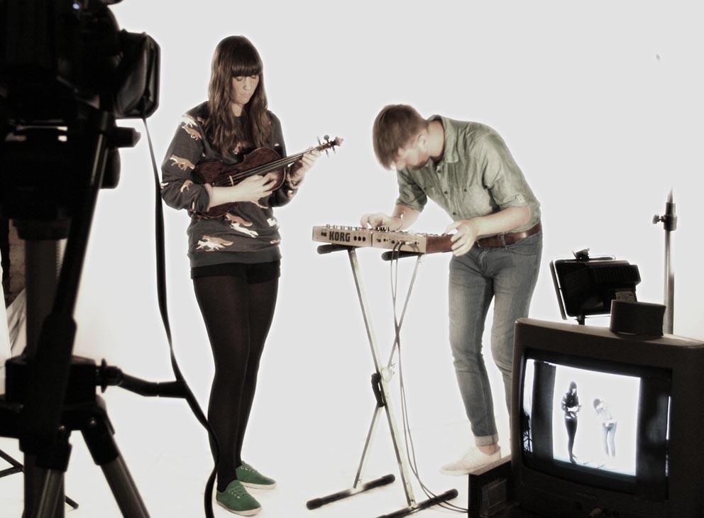 "Musikvideo-Dreh zu ""I'm not a Band - Time on Fire"", Toby Wulff Filmproduktion Berlin"