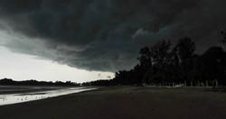 Ein Sturm zieht auf, Thailand.