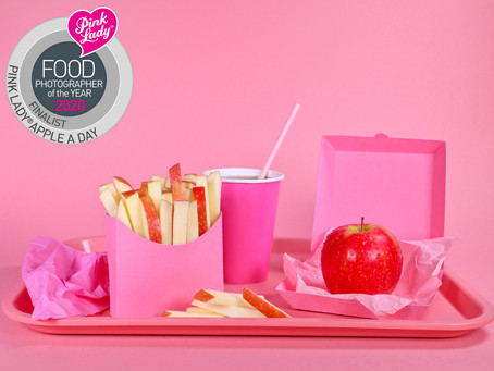 FINALIST MIT AUSZEICHNUNG AUF DEM PINK APPLE FOOD PHOTOGRAPHER OF THE YEAR AWARD 2020