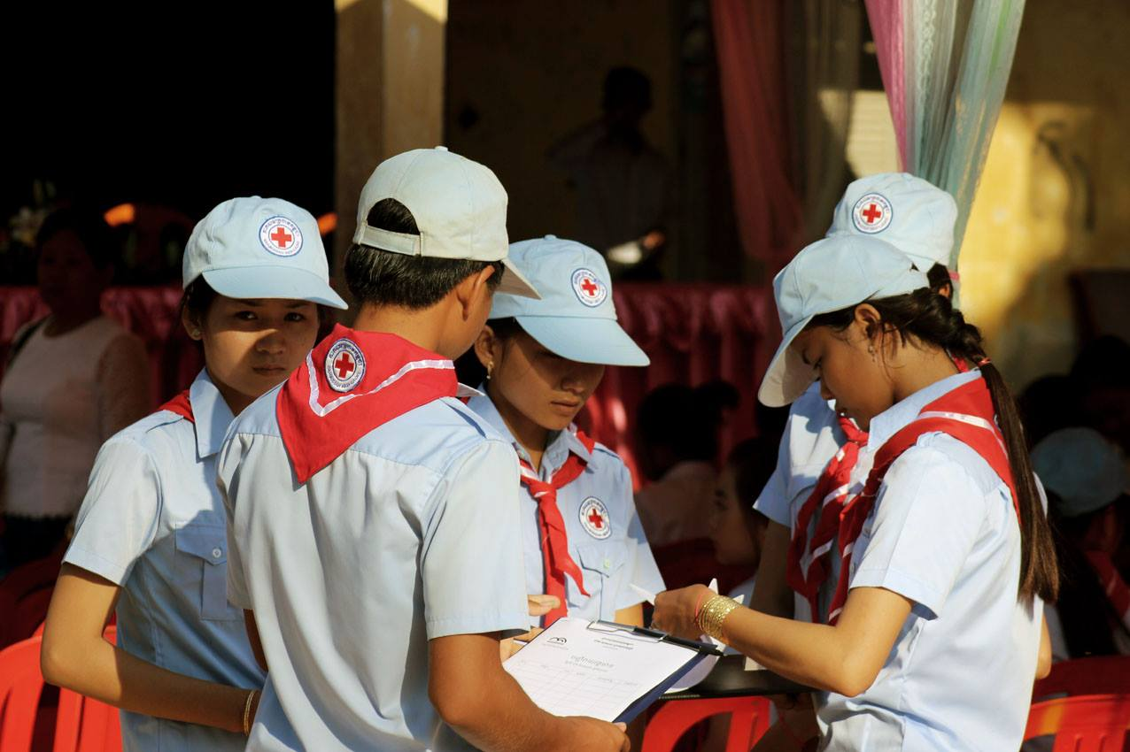 Pfadfinder in Kambodscha