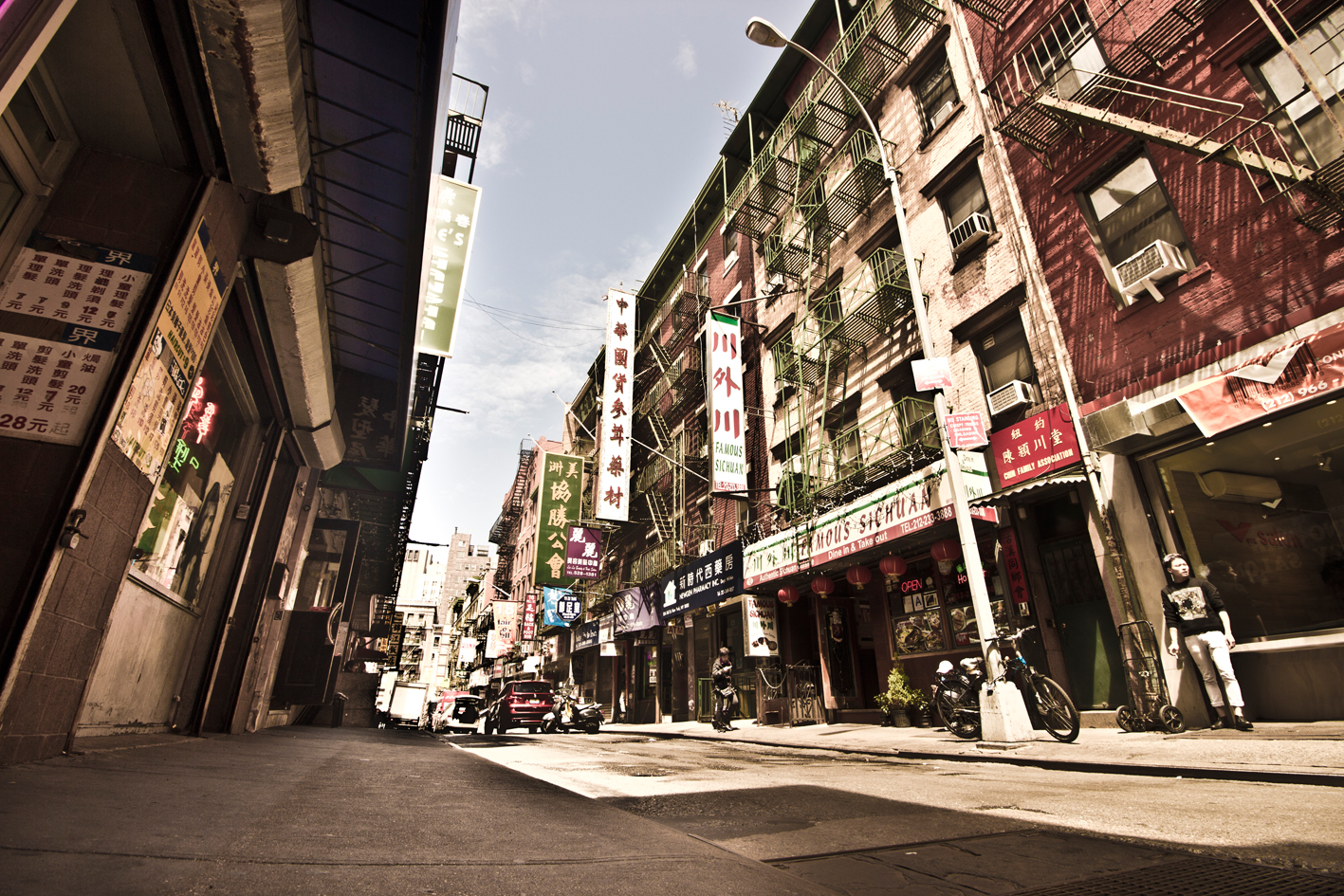 China Town, Manhattan, New York