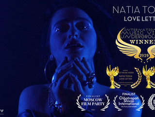 Musikvideoproduktion für Natia Todua in Berlin. Ein Blick hinter die Kulissen des Musikvideodrehs zu